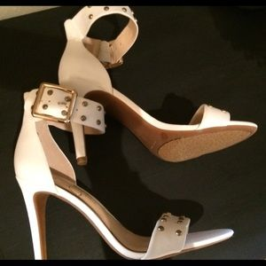 Jessica Simpson ankle strap heels